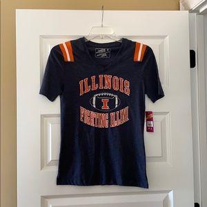 NWT! Illinois Fighting Illini Shirt